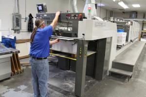 انواع دستگاه های چاپ افست